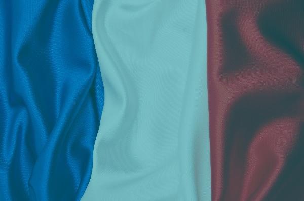 Drapeau tricolore français