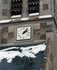 Horloge de l'église de Thèvray