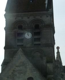 Clocher de l'église de Vauxrezis