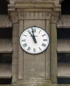 Cadran de l'horloge de Vauxrezis