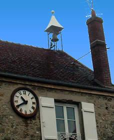 Toiture de la mairie de Bouillancy