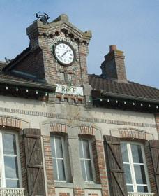 Façade de la mairie de Fontaine-Fourches