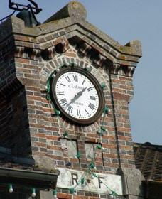 Détail de l'horloge de la mairie