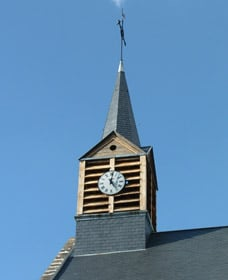 Clocher de l'église de Saint-Nicolas-aux-Bois
