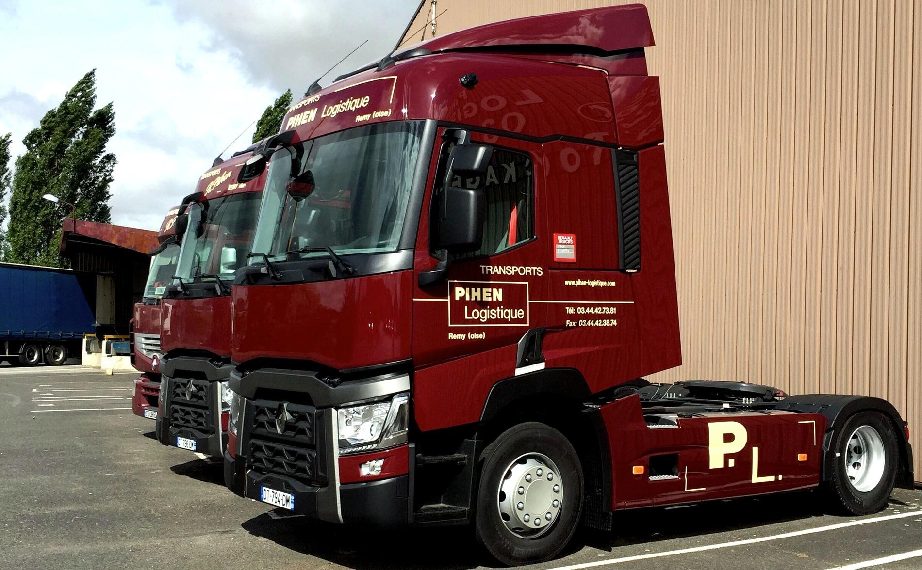 Renault Trucks T à l'effigie de Pihen Logistique