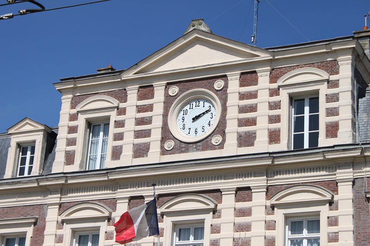 Horloge Huchez sur mairie
