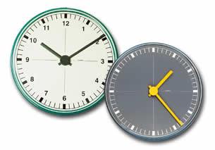 Cadrans d'horloges étanches