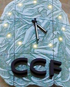 Cadran gravé du CCF