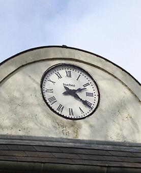 Cadran huchez indiquant l'heure de la journée