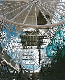 Horloge monumentale de la gare de Cergy