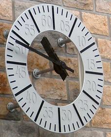 Horloge synchronisée avec l'heure de la SNCF