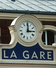 Horloge de la gare de la Muette