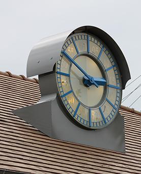 Horloge de la gare sncf à Yerres