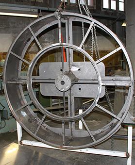 Structure de l'horloge de l'atelier