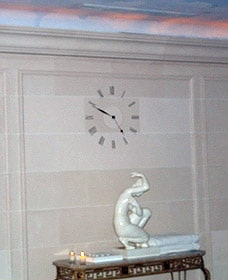 Horloge de prestige pour la piscine