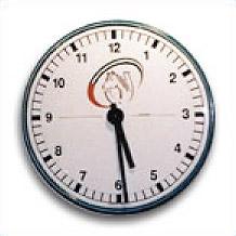 Cadran horloge avec chiffres arabes