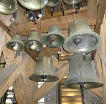 Image d'un carillon avec sa multitude de cloches
