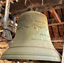 Photo d'une ancienne cloche