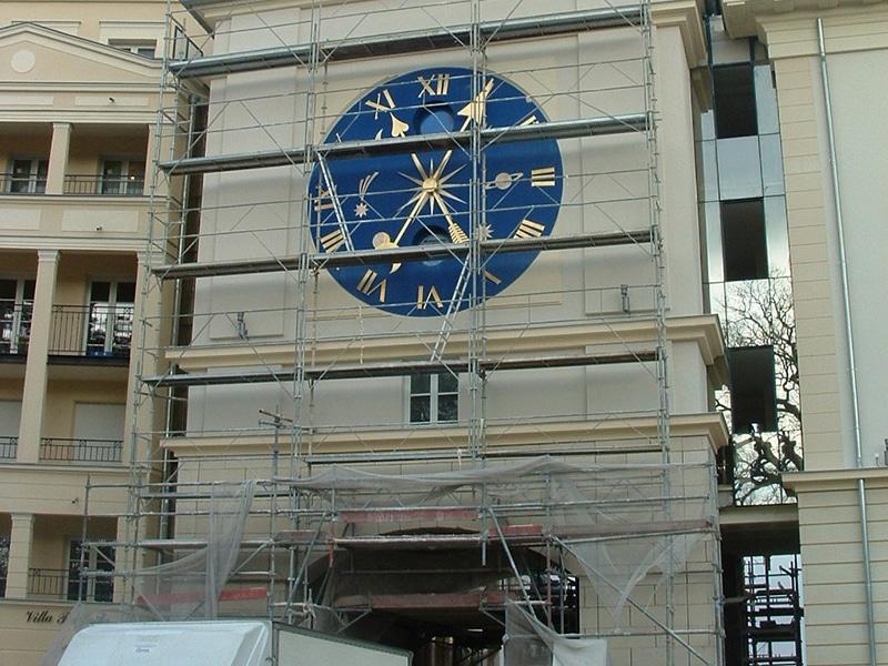 Chantier pour Horloge monumentale