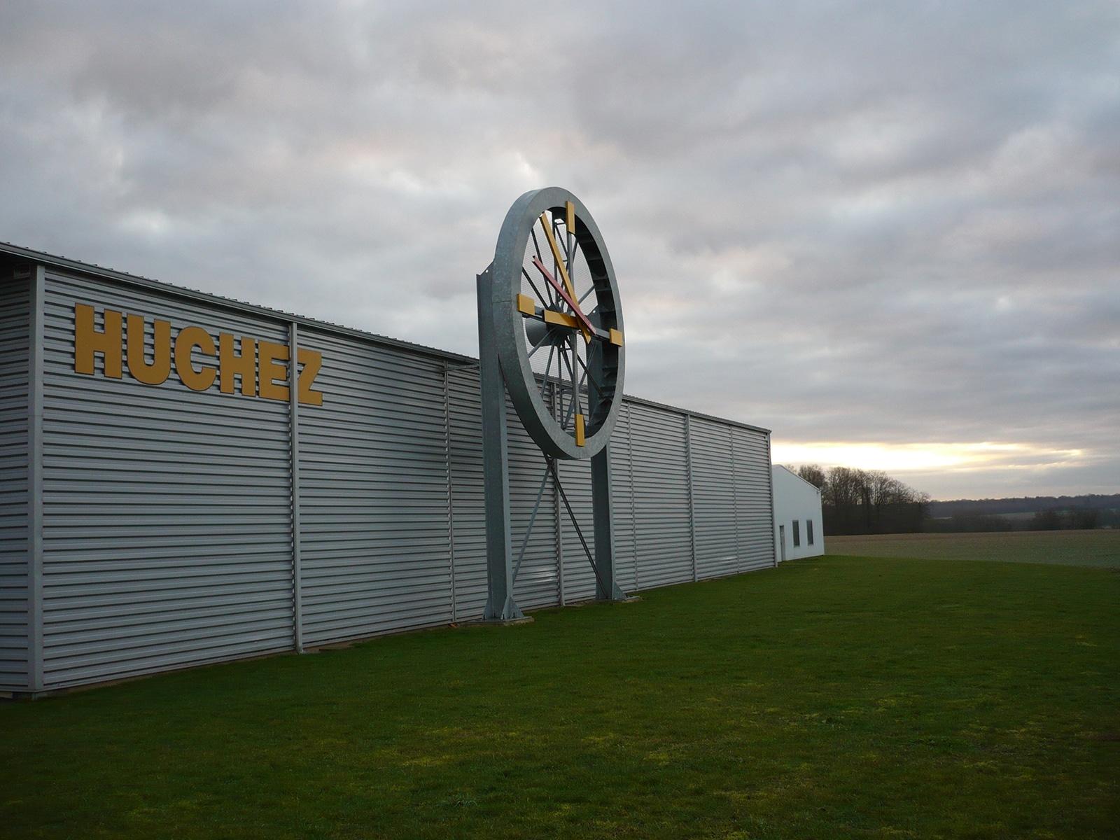 Entrepôt de l'entreprise Horloges Huchez