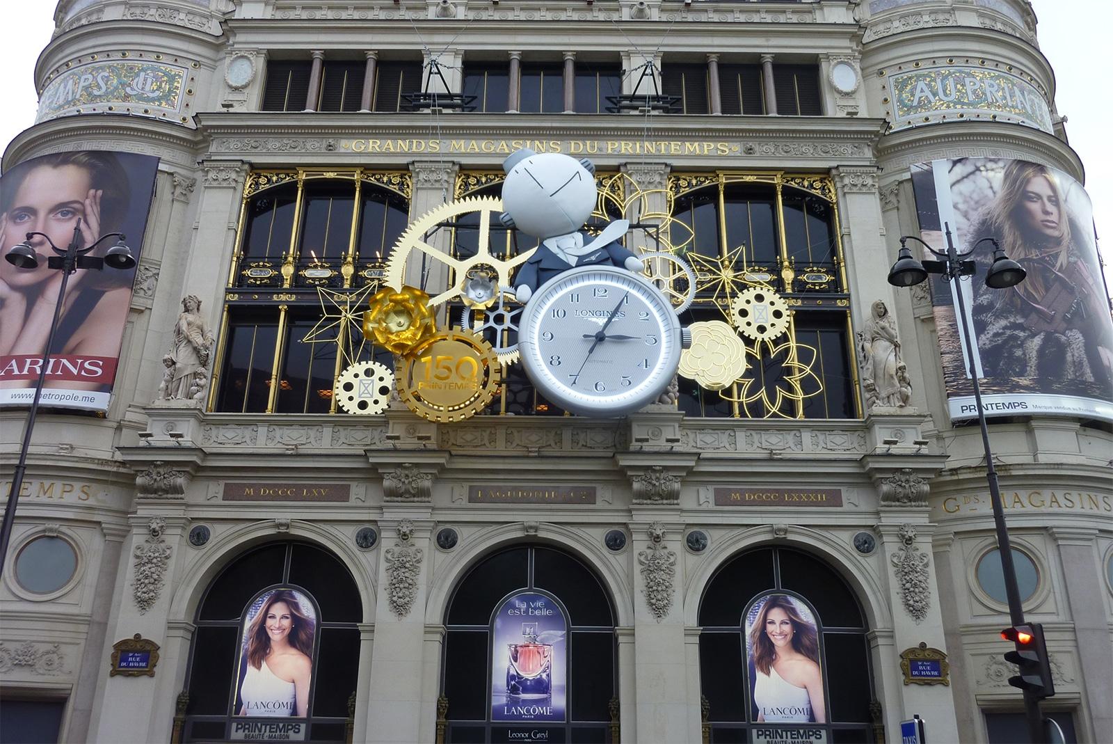 Horloge Monumentale sur gare