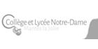 Logo institution Notre Dame Mantes la Jolie