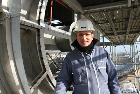 Photo chantier Huchez à Deauville
